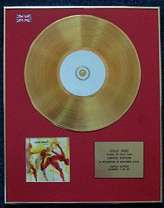 The Divine Comedy - 24 Carat Gold Coated LP Disc - Regeneration