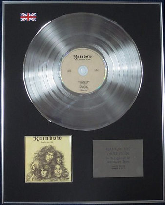 RAINBOW - Limited Edition CD Platinum Disc - LONG LIVE ROCK 'N' ROLL