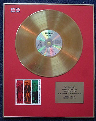 Jam - Limited Edition CD 24 Carat Gold Coated LP Disc - The Gift