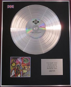 A TRIBE CALLED QUEST - CD Platinum Disc - BEATS,RHYMES AND LIFE