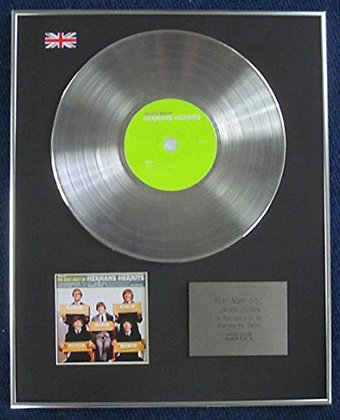 Hermans Hermits - Limited Edition CD Platinum Disc - The Very Best Of