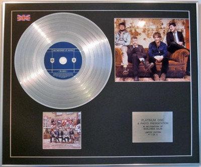 MUMFORD & SONS - CD Platinum Disc + Photo - BABEL