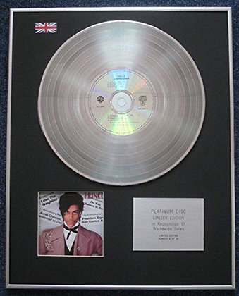 Prince - Limited Edition CD Platinum LP Disc - Controversy