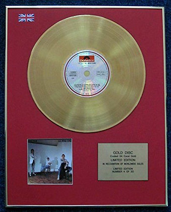 The Jam - Limited Edition CD 24 Carat Gold Coated LP Disc - All Mod Cons