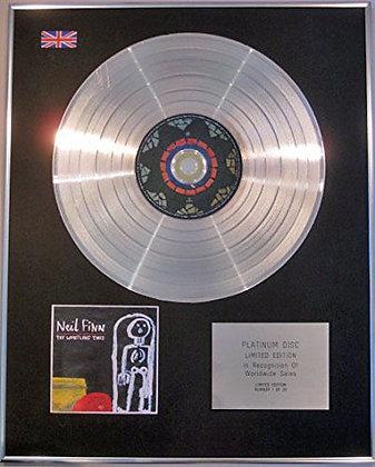 NEIL FINN-(CROWDED HOUSE) Ltd Edtn CD Platinum Disc -TRY WHISTLING THIS