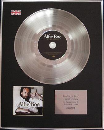 ALFIE BOE - CD Platinum Disc - STORYTELLER