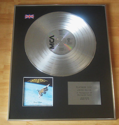 BOSTON - CD Platinum Disc - THIRD STAGE