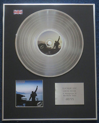 Queen- Limited Edition CD Platinum LP Disc - Made in Heaven