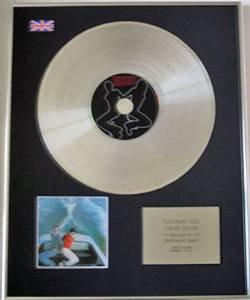 SPARKS - Limited Edition CD Platinum Disc - PROPAGANDA