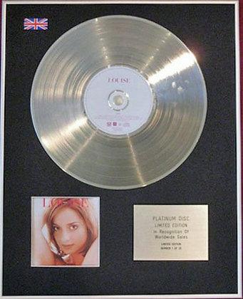 LOUISE - CD Platinum Disc - NAKED