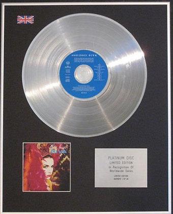 ANNIE LENNOX - CD  Platinum Disc - DIVA