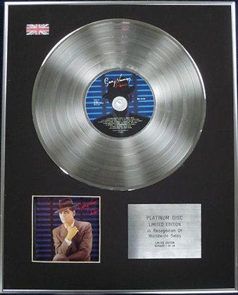 GARY NUMAN - Limited Edition CD Platinum Disc - DANCE
