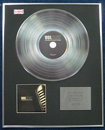 Volbeat - Limited Edition CD Platinum LP Disc - The strength,the sound, the song