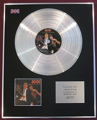 AC/DC - Platinum Disc - IF YOU WANT BLOOD
