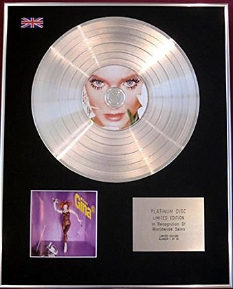 GINA G - CD Platinum Disc - FRESH