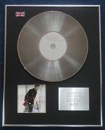 Michael Buble - Limited Edition CD Platinum LP Disc - Christmas