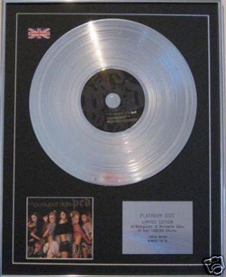 PUSSYCAT DOLLS- CD Platinum Disc- PCD