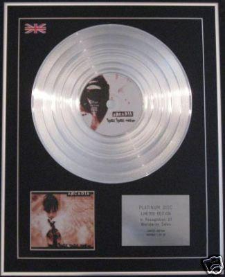 ARCADIA - Ltd Edtn CD Platinum Disc- COLD COLD BODIES