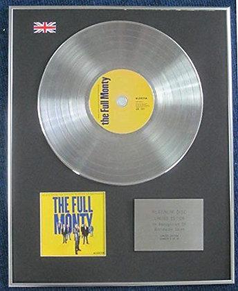 The Full Monty - Limited Edition CD Platinum LP Disc - Original Soundtrack
