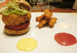 Dessert 'Hamburger'