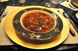 Vegetable & Black Bean Soup