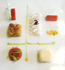 Deconstructed Conch Salad