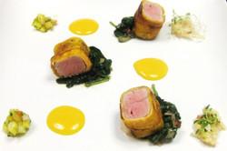 Tuna and Spinach