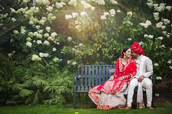 Indian bridal makeup and hair