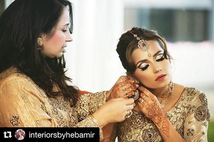 Glamour Pakistani bride