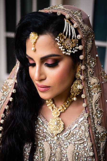 Valima Makeup for Pakistani Bride in London, Ontario