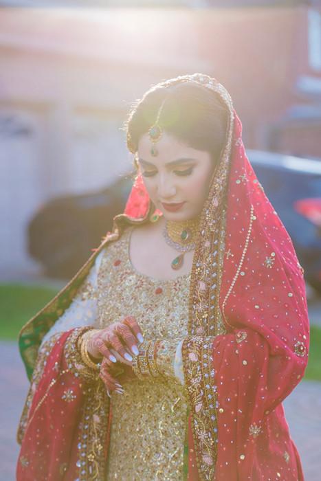 Pakistani bride, Mississauga