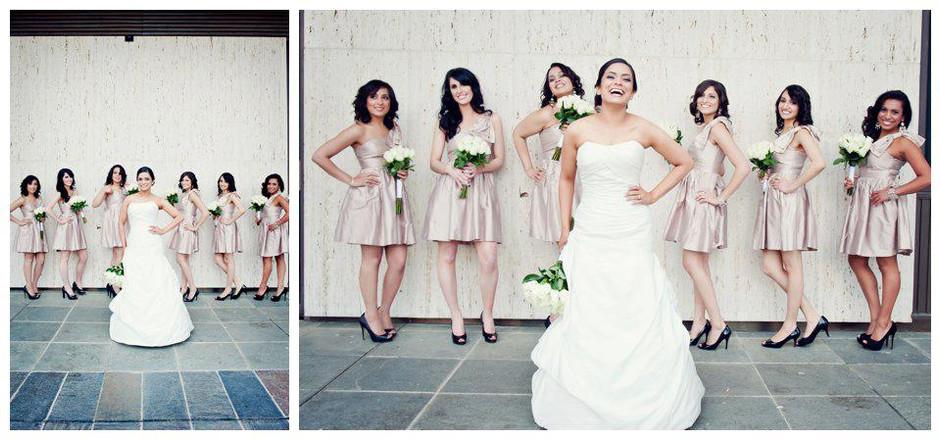 Bridal party makeup looks