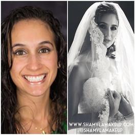 Elegant white bride