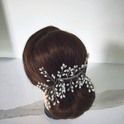 Low Chignon - Bridal Hairstyles