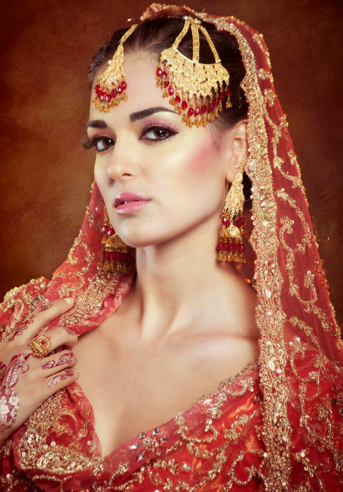 Indian editorial bride