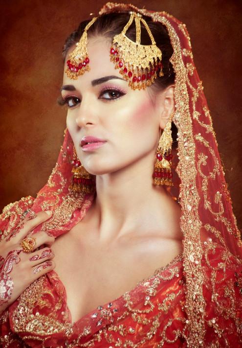 Indian editorial bride