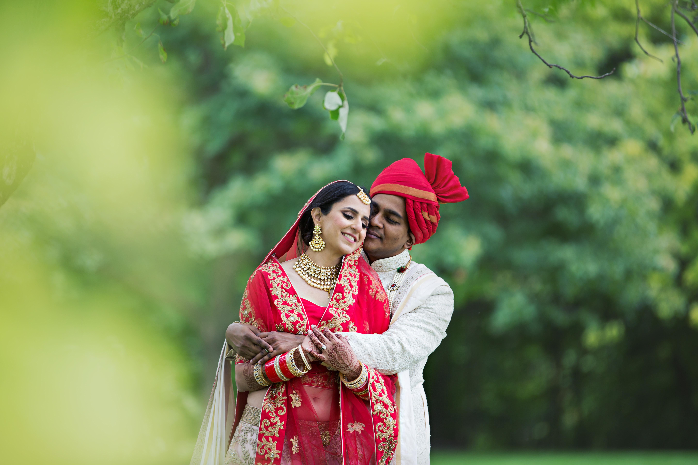 Indian bride in London, Ontario