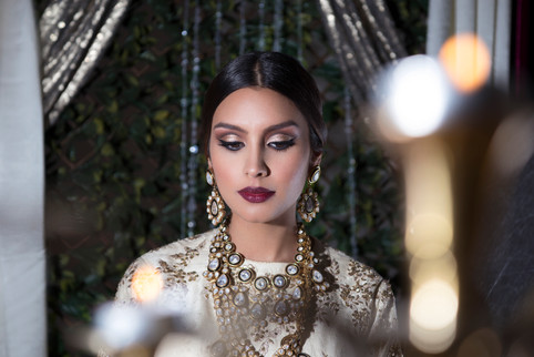 Cut crease for an Indian Bride