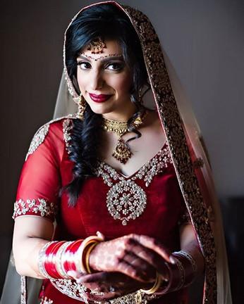 Indian bride in Toronto