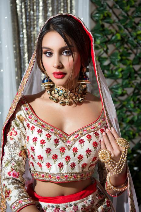Indian bridal makeup look