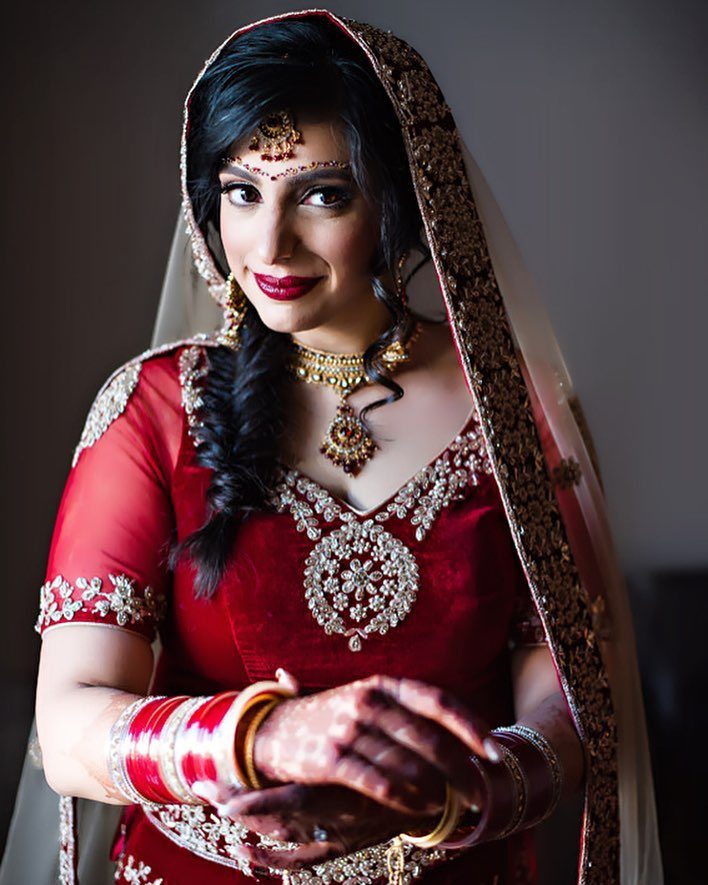 Makeup, Hair and Styling for an Indian Bride