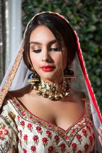 Pakistani Mehndhi makeup