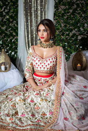 Sangeet or Mehndhi bride