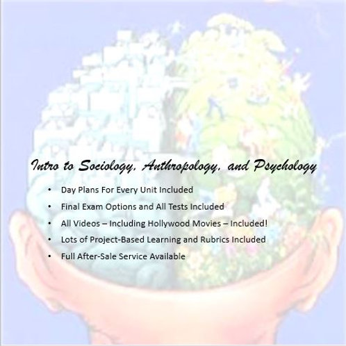 Full Sociology, Anthropology, Psychology Course: EVERYTHING is Included!