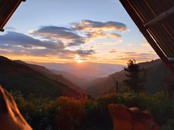Vistas a las montañas
