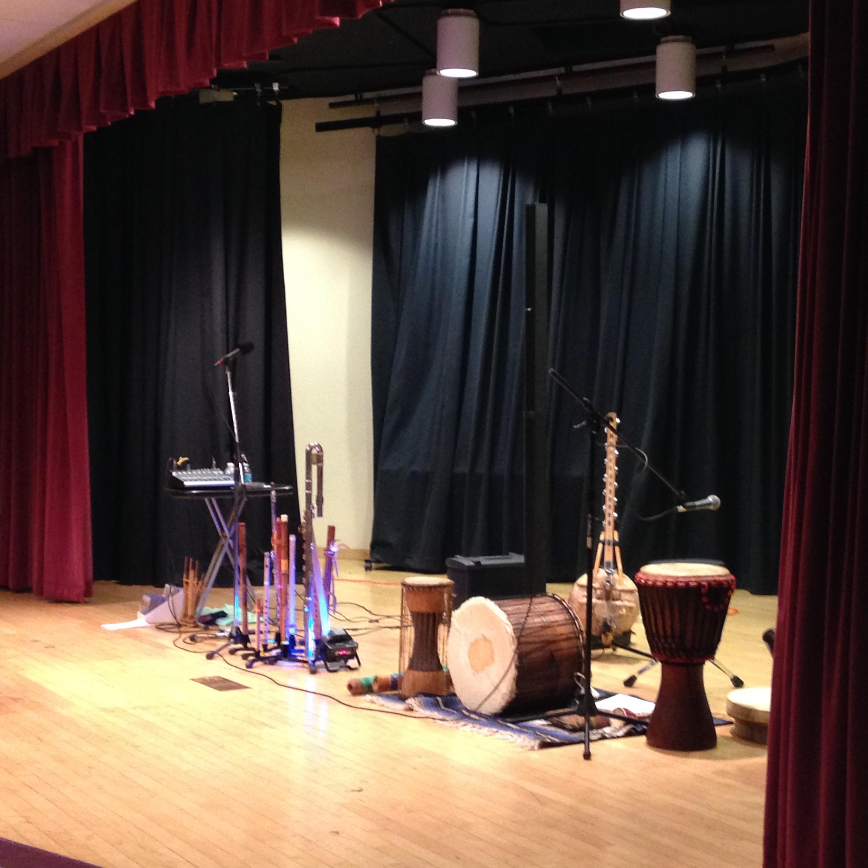 Anthropolgy Band set up