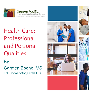 Healthcare Professional Qualities  (Web)