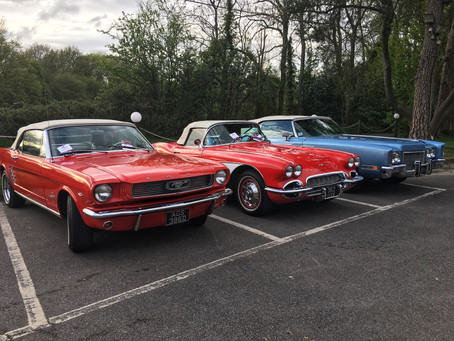 April 2019 Classic Car and Curry night at Shampan Spinning Wheel