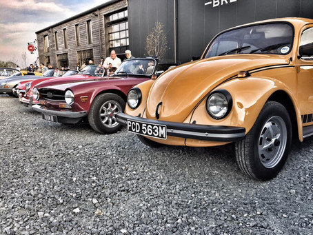 April 2019 Classic Car and Curry night at Westerham Brewery