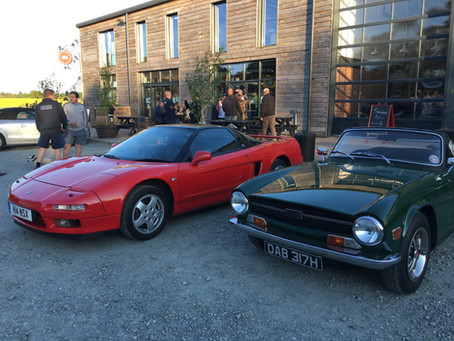 May 2019 Classic Car and Curry Night at Westerham Brewery